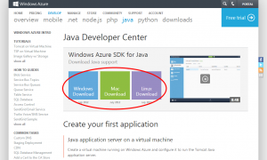 Azure SDK Download